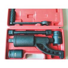 Баллонный ключ с редуктором (мясорубка) 32х33 Сервис Ключ