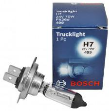 Лампа галогенная H7 24V 75/70W BOSCH 1987302471
