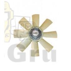 Вентилятор охлаждения (вискомуфта привода вентилятора с крыльчаткой) STELLOX