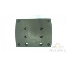 Накладки тормозные с заклепками (410x223)(94059 8x18 64) STELLOX