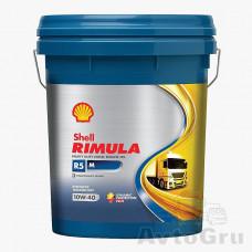 Моторное масло Shell Rimula R5 E 10W-40 (CI-4), 20л канистра