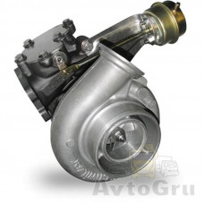 Турбокомпрессор GT4294S штуцер управл. на двигателе GARRETT