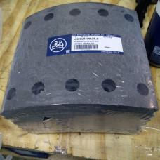 Комплект накладок тормозных BPW
