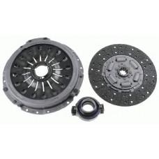 Комплект сцепления корзина+ диск+ выжимной Scania SACHS